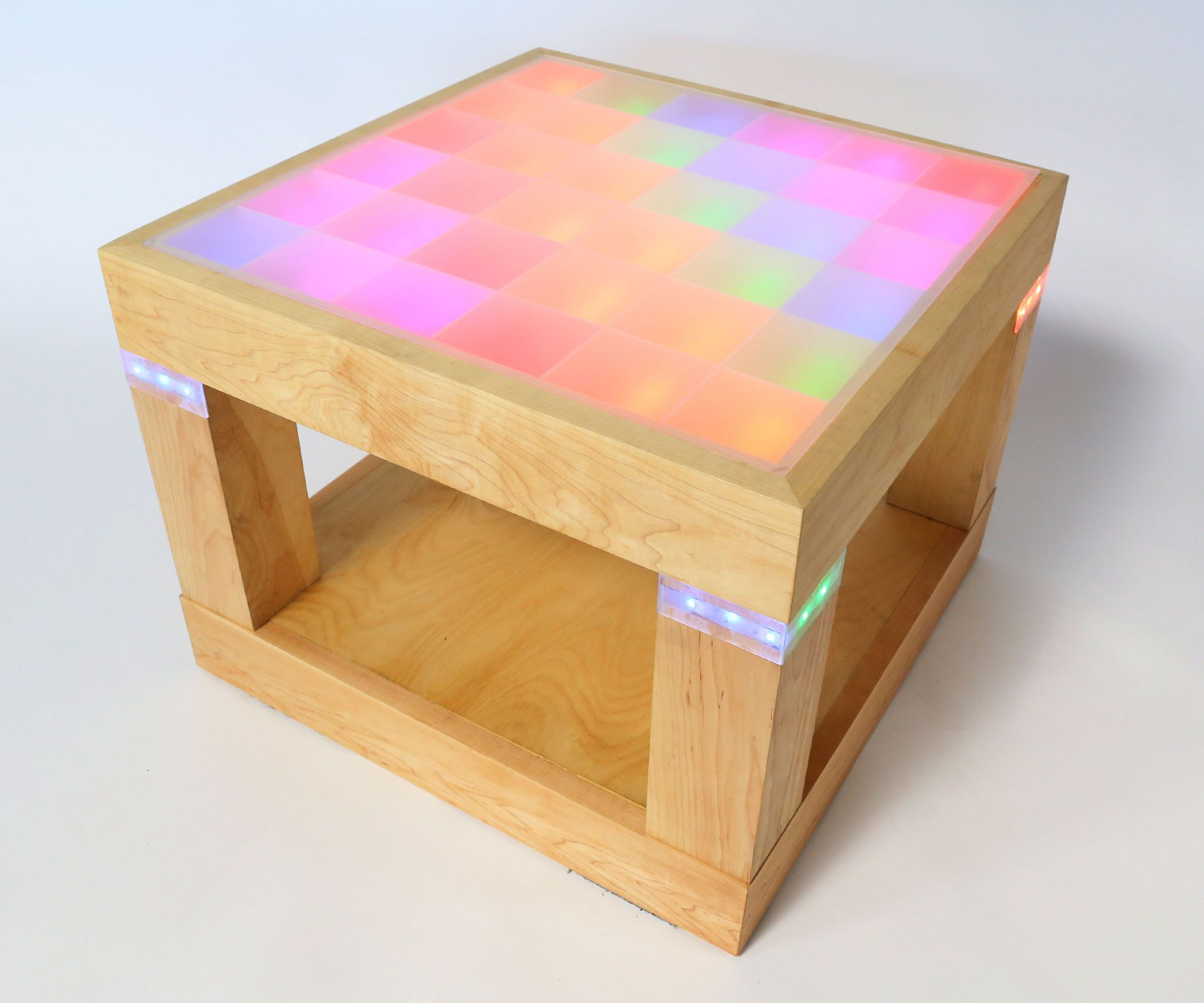 Light Up Disco Table Light Up Led Diy Projects [ 1750 x 2100 Pixel ]