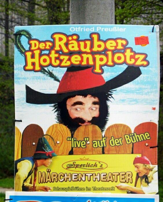 #Räuber #Hotzenplotz | Google+ Ralf Kaufmann  #Nostalgie #Kindheit #Kinder #Märchen #Theater