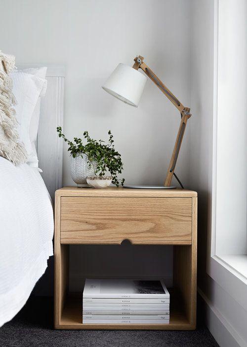 Dot Pop Oak Bedside Tables Bedside Table Scandinavian Style Bedside Table Scandinavian