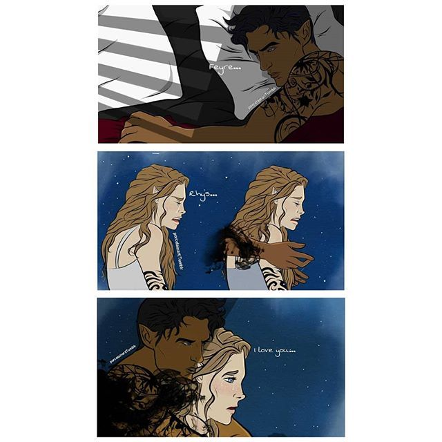 Feyre Back At The Spring Court From Sarahjmaas Book Series