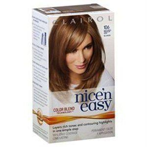 Clairol Nice N Easy Hair Color Natural Medium Ash Blonde 106