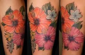Hawaiian Flower Tattoo Sleeve Google Search Hawaiian Tattoos