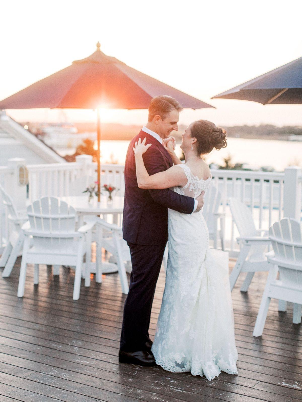 A Lewes Yacht Club Wedding Delaware Beach