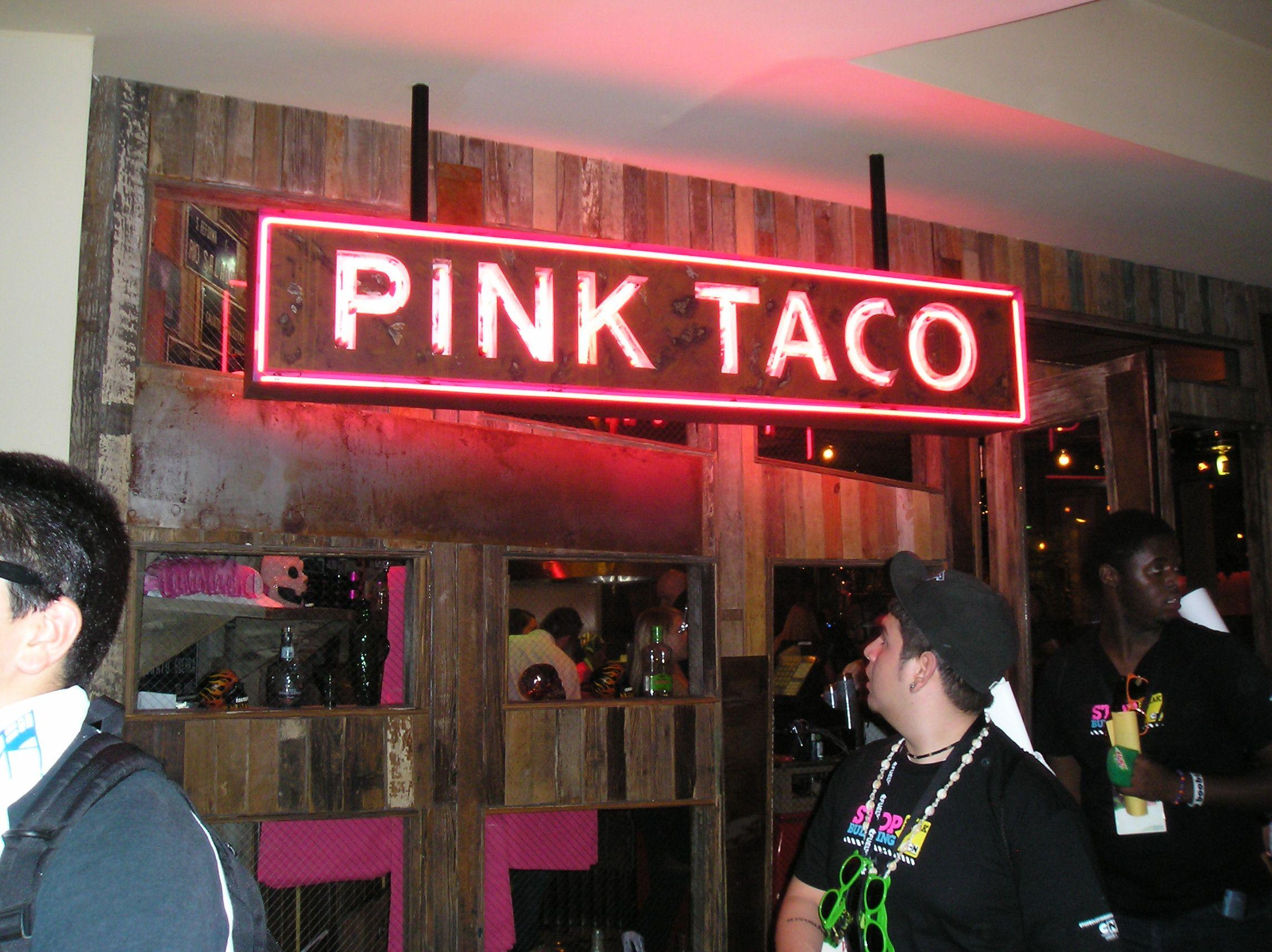 Pink Taco Restaurant Las Vegas NV Great Food!!! Las