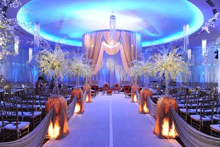 A Little Over The Top But We Like Aspects Of This Wedding Ceremony Decorationswedding
