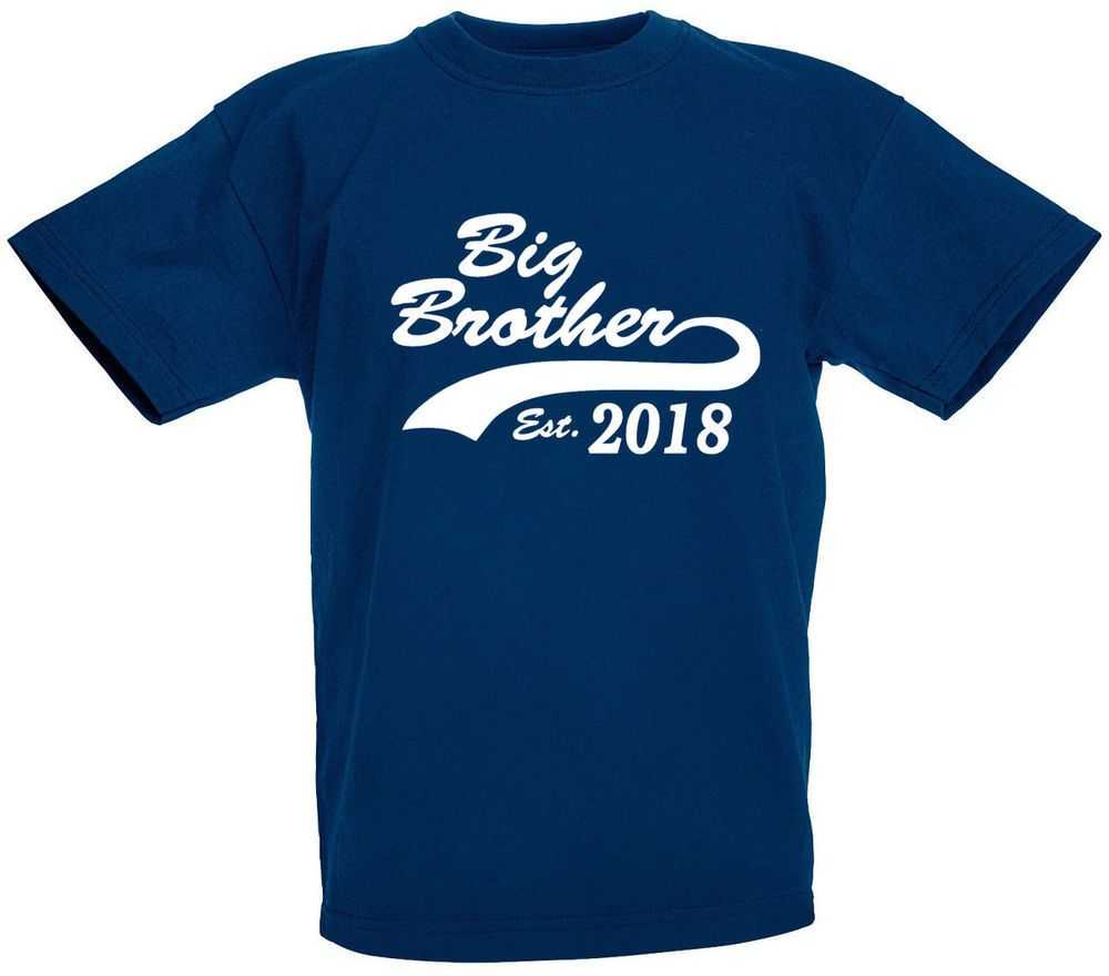Big brother est 2021 tshirt gifts for new brothers gift