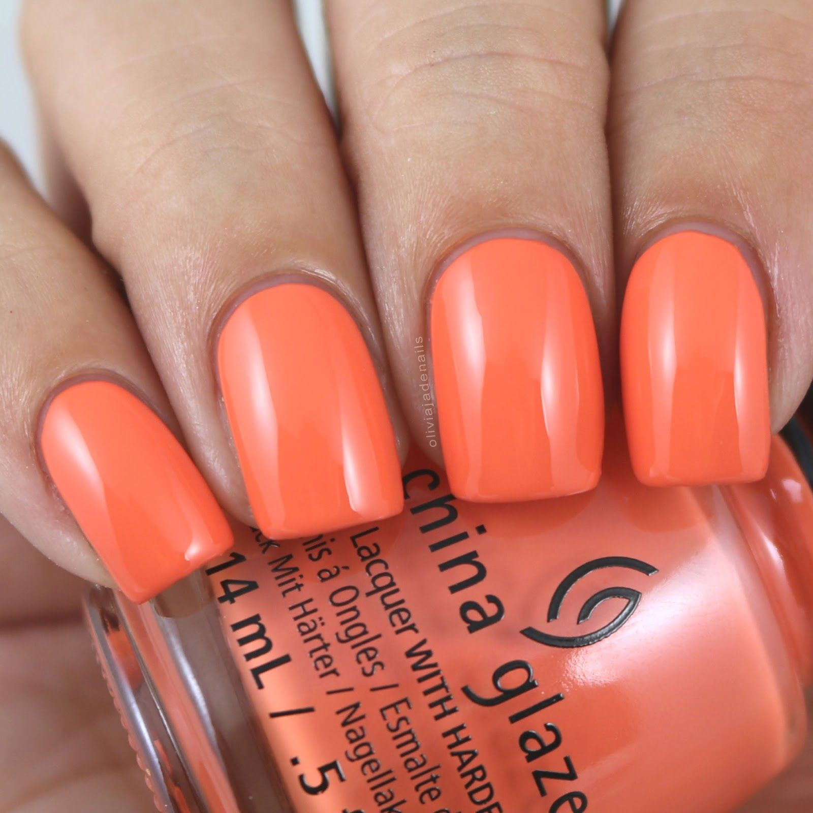 China Glaze That\'ll Peach You swatched by Olivia Jade Nails | China ...