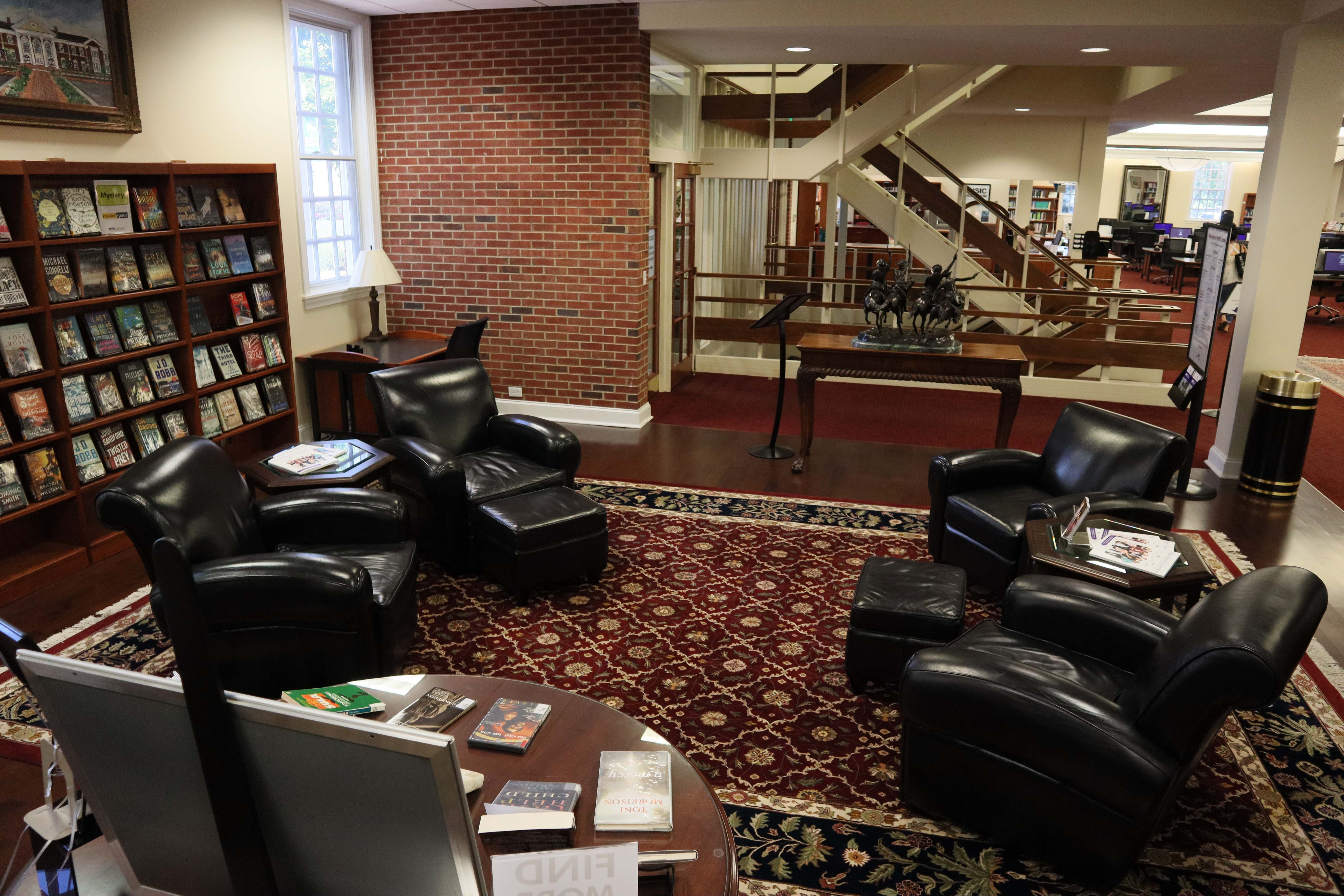 In The Readerspace Smith Library Main Entrance Library Home