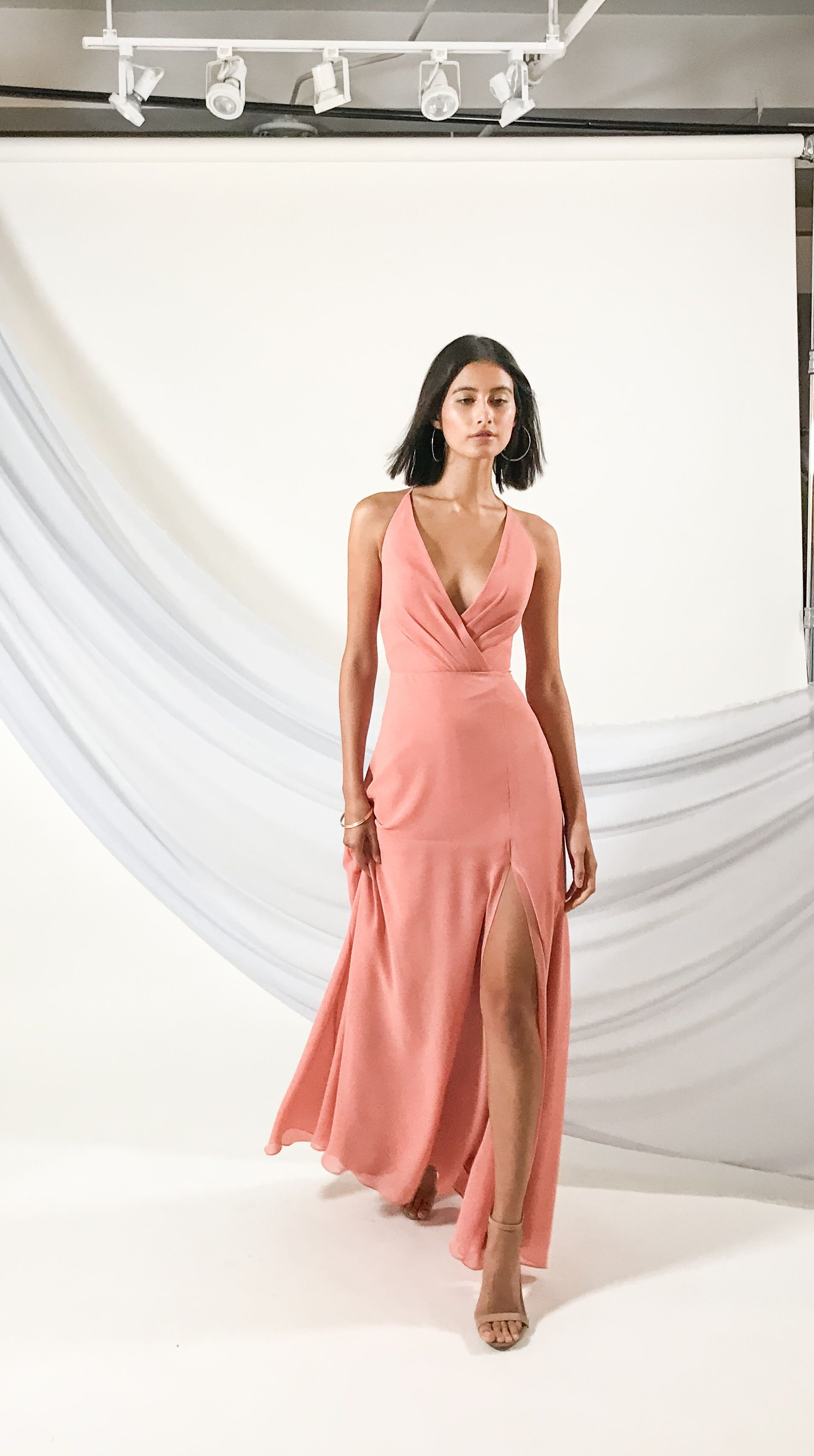 Sultry in Sedona Sunset. The Bryce dress by Jenny Yoo Spring 2019 is a  sophisticated bcd2f264e