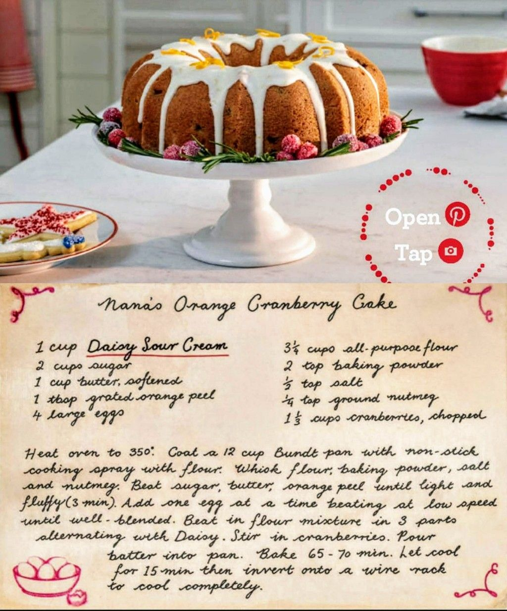 Pin By Stephanie Beard On Edible Dessert Daisy Sour Cream Baking Desserts