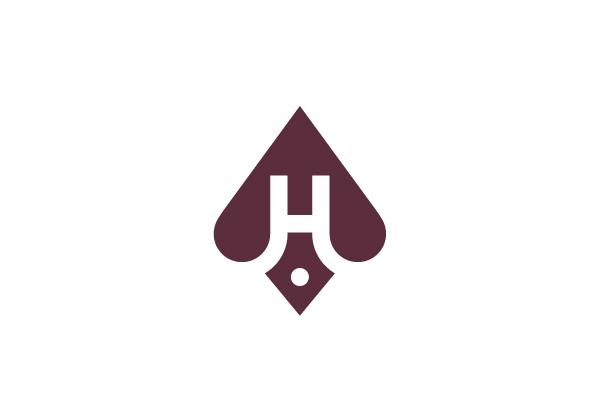 Letter H Ace Logo Personal Branding Logo Lettering Ace Logo