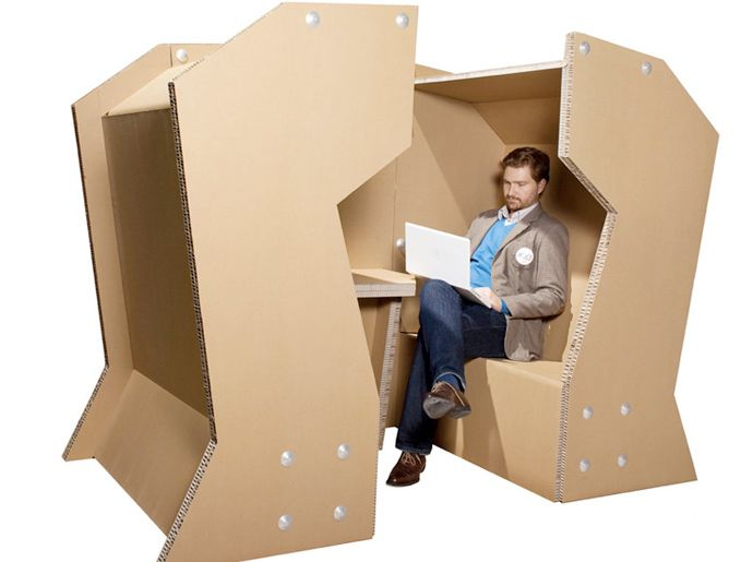 Cardboard Office Desk Design U0026 Other Creative Cardboard Furniture Great Ideas