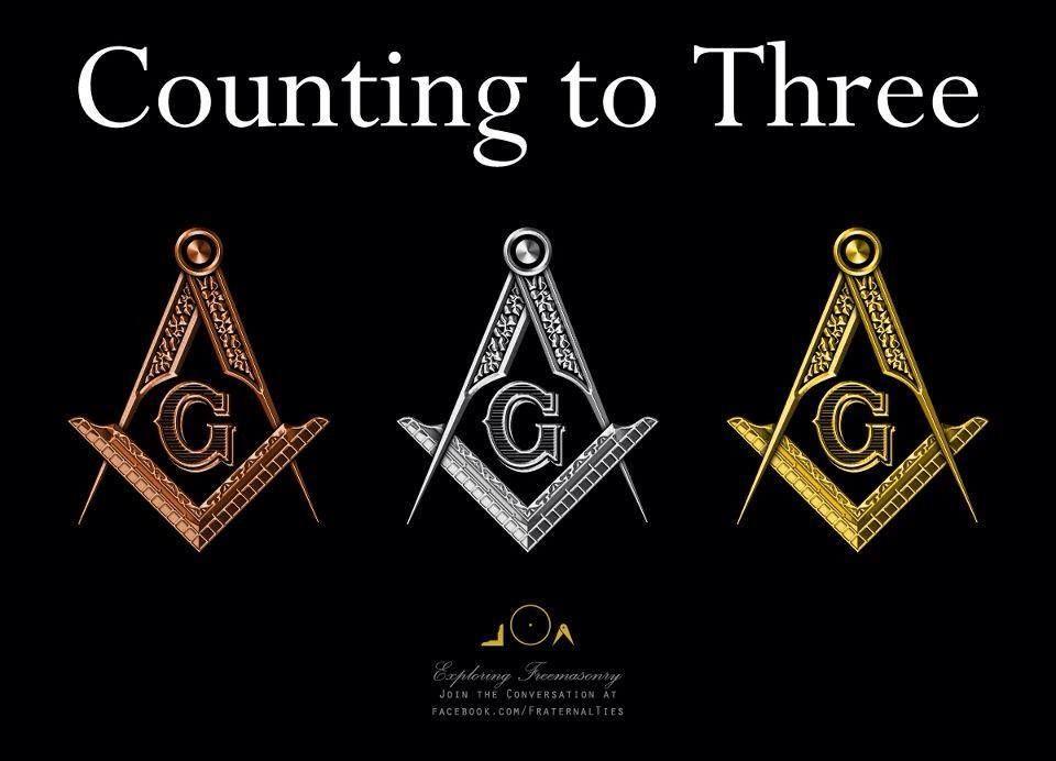 The 3 Steps Masonic symbols, Freemasonry, Freemason