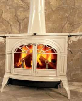 Vermont Castings Wood Stoves Encore Flexburn In Green Wood