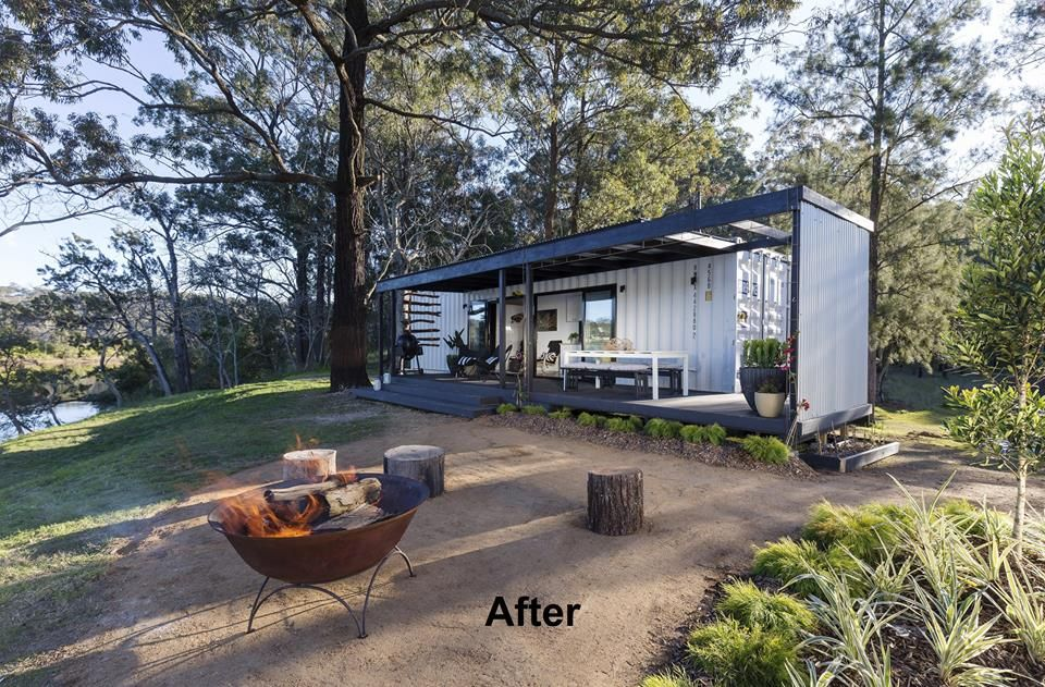 A bloody spectacular 50k shipping container home packed Bhg australia