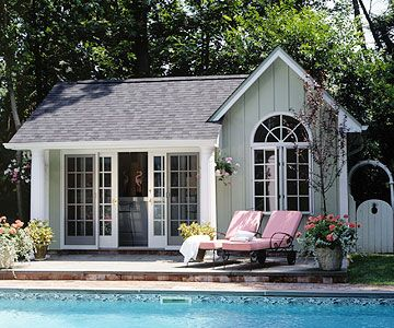 pavilion and pool house ideas tiny houses pinterest piscines jardin de et petite maison. Black Bedroom Furniture Sets. Home Design Ideas