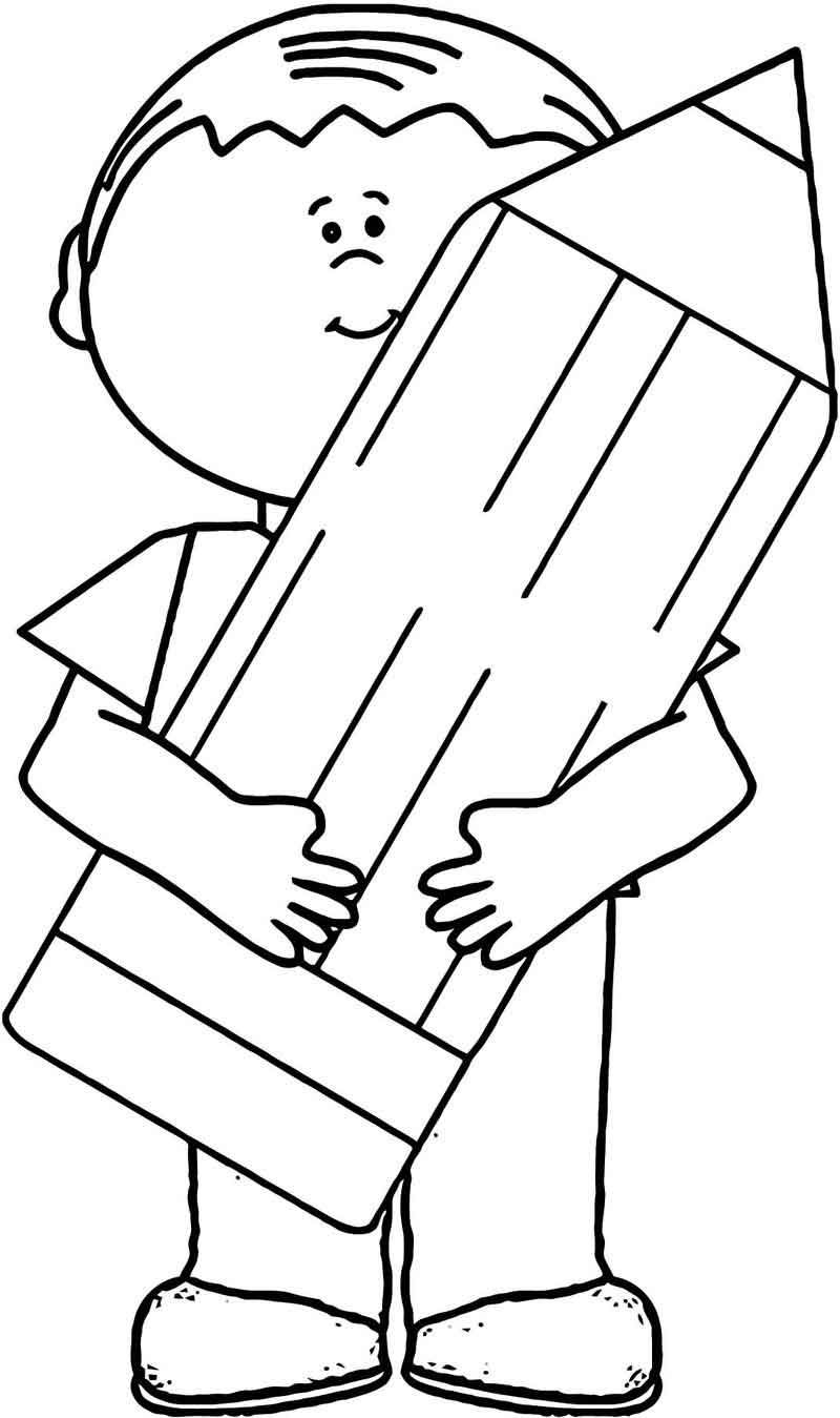 Hold Pen Love Coloring Page 1