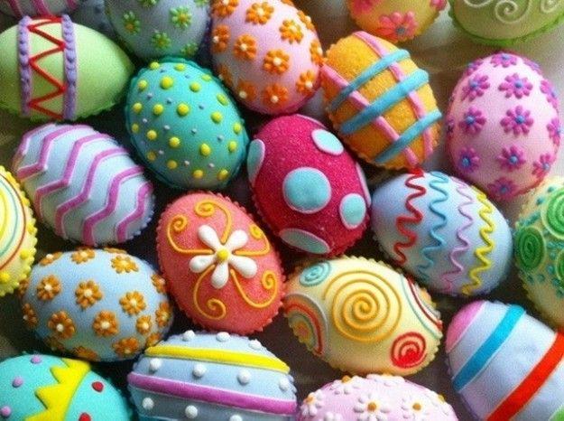 Huevos de Pascua fotos ideas para decorar Easter Pinterest Easter - huevos decorados