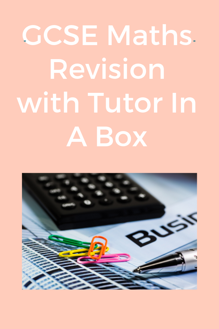 GCSE Maths Revision and Tutor In A Box review Gcse math