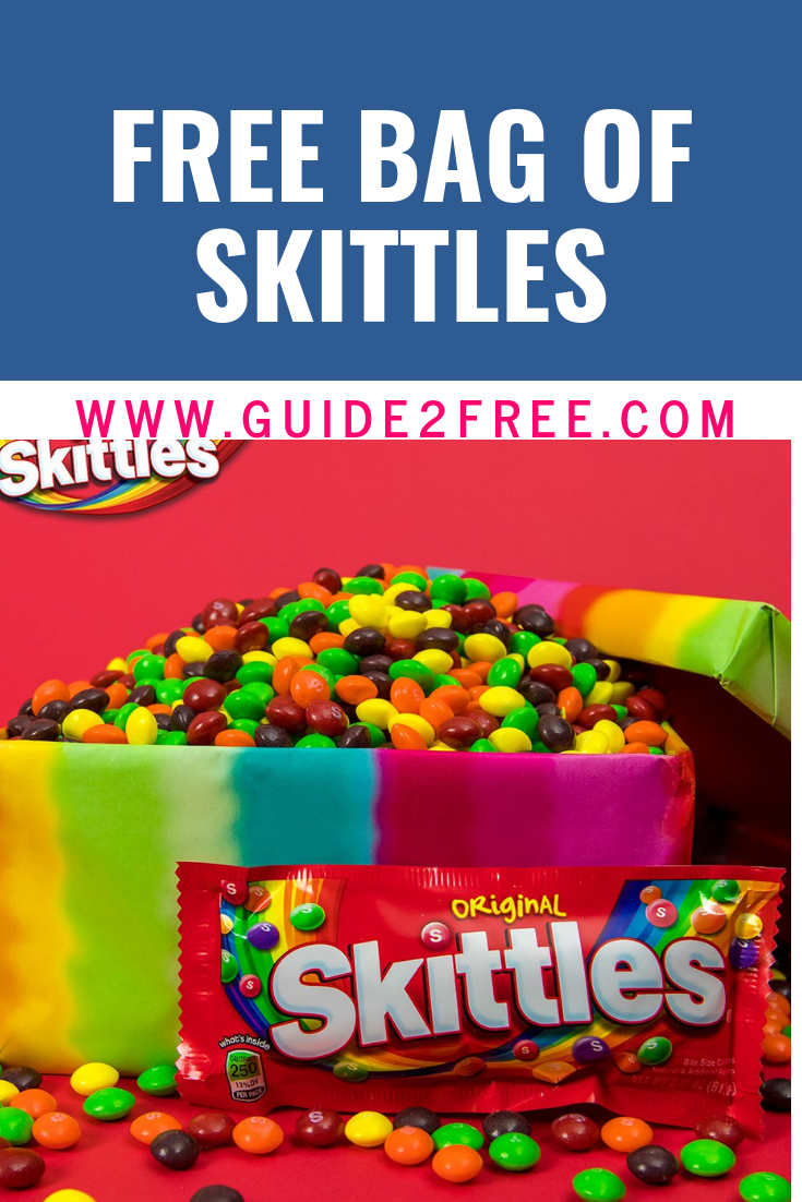 FREE Bag of Skittles Skittles, Free stuff by mail, Food