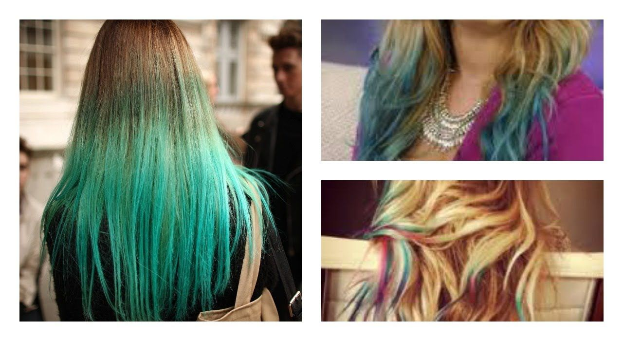 How To Dip Dye Your Hair With Food Coloring Dyed Hair Blonde Dye Honey Hair Color