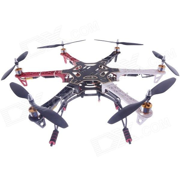 F550 Multicopter Hexacopter Frame + Landing Gear + Remote Control ...