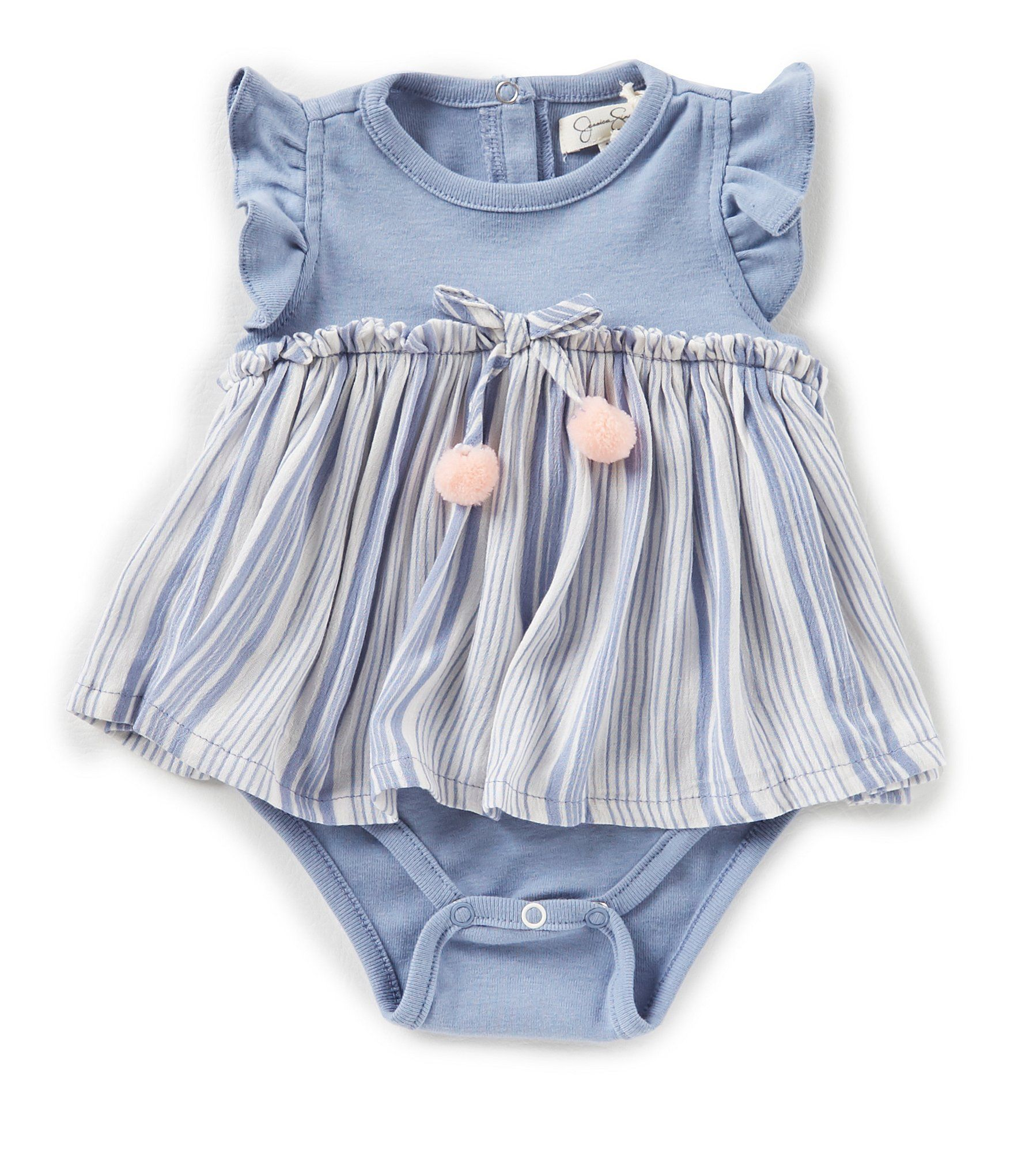 Shop for Jessica Simpson Baby Girls Newborn 9 Months Striped Skirted