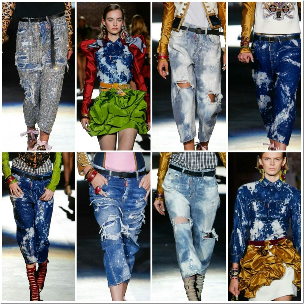 Dsquared2 S/S 2017 Milan Fashion Week denimsandjeans.com