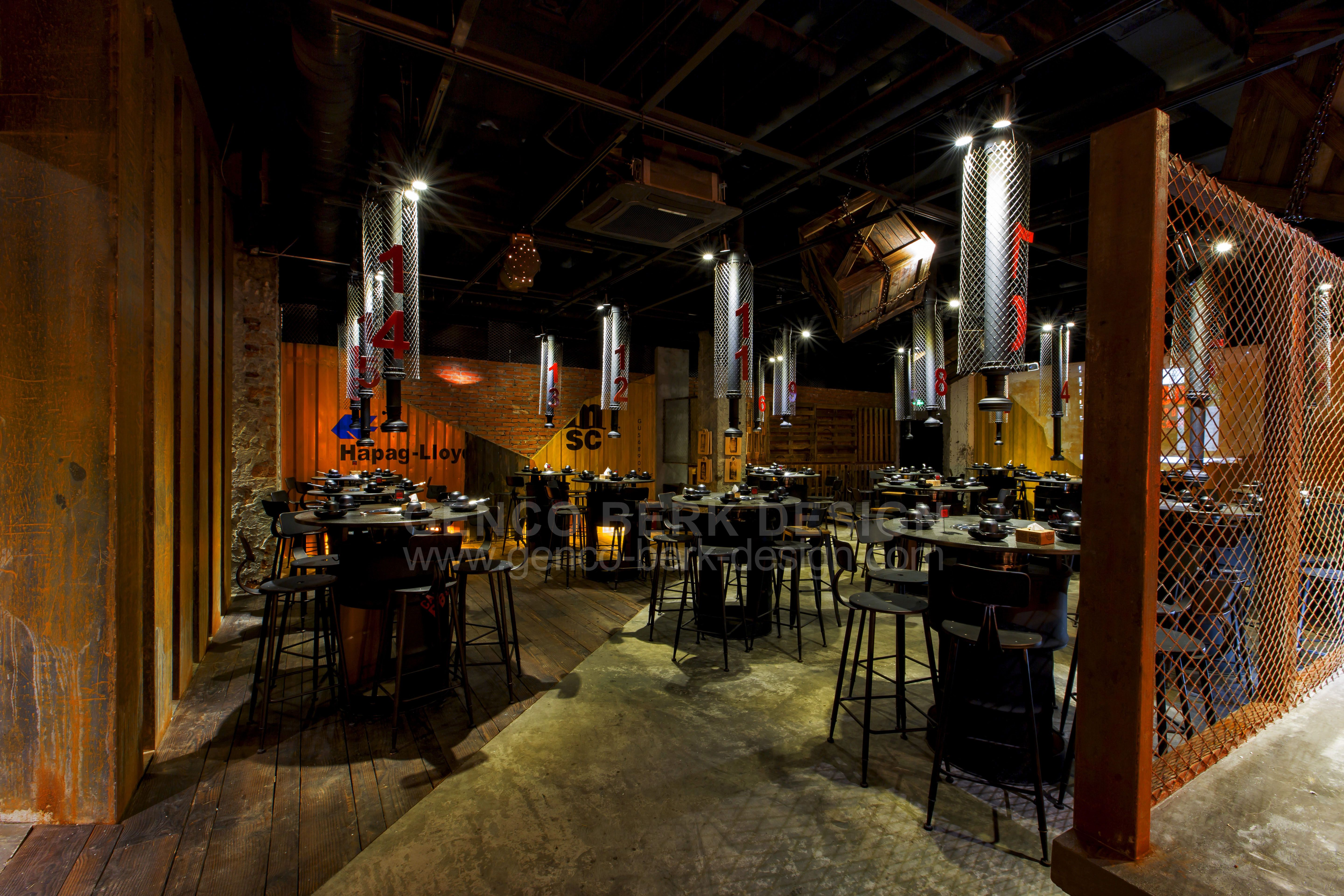 Cargo container, Korean bbq and Shanghai on Pinterest