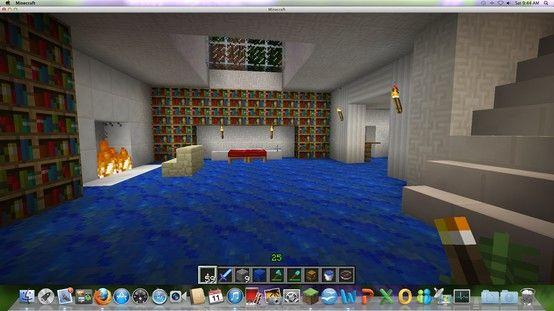 Minecraft Schlafzimmer ~ Master bedroom in underground house minecraft