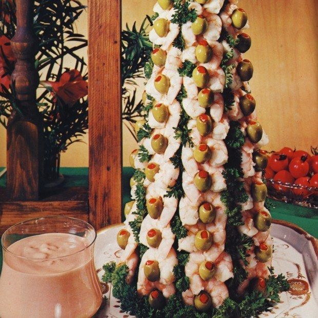 Christmas Tree Appetizer Recipes Part - 46: 20 Truly Horrifying Vintage Holiday Recipes
