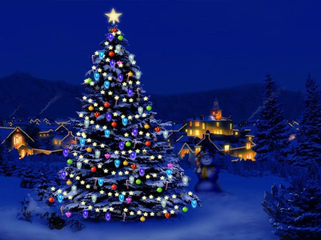 Free 3D Animated Christmas Wallpaper