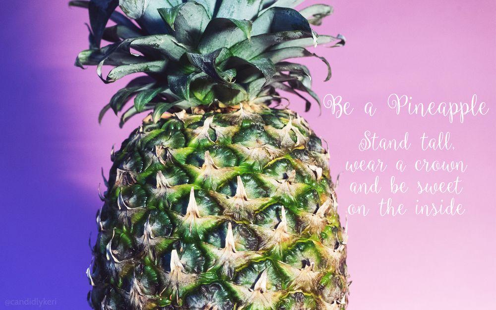 Be A Pineapple Pineapple wallpaper, Cute pineapple