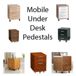 Gentil Under Desk Drawers On Wheels   Easy To Wheel Out Of The Way Of The Desk For  Access To Electrical Sockets. Portable Solutions!