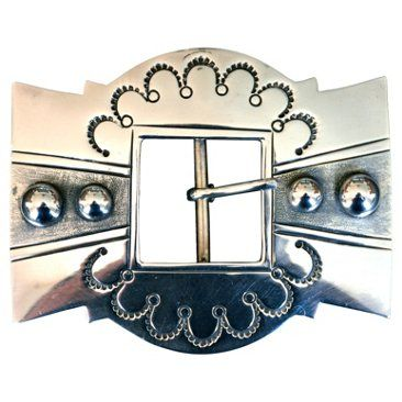 Check out this item at One Kings Lane! Sterling Belt Buckle