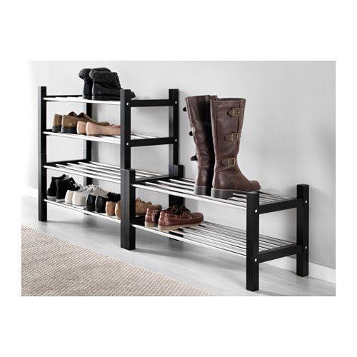 Hemnes White Bench With Shoe Storage 85x32 Cm Ikea Shoe Storage White Bench With Shoe Storage Front Door Shoe Storage