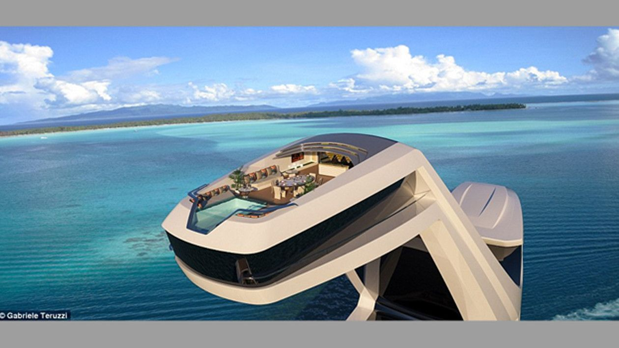 Ready For A Buyer, 492 Foot Superyacht Has Beach Club And Elevated Master