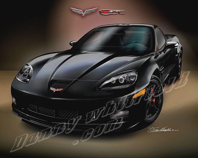 2008 Corvette Z06 2008 Corvette Corvette Art Corvette