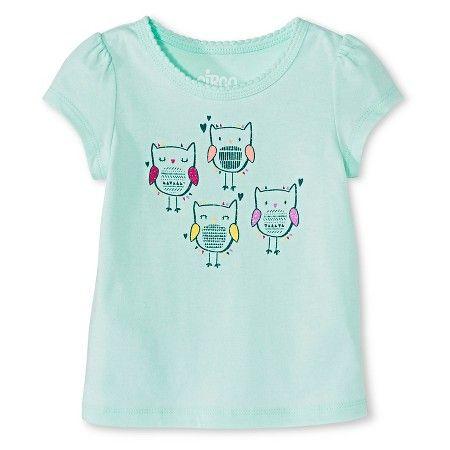 Toddler Girls' T-Shirt  Green - Circo™