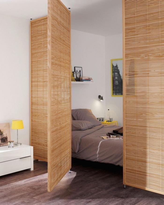 Si toi aussi tu vis dans un studio, tu vas kiffer ces idées stylées - meuble cuisine porte coulissante ikea