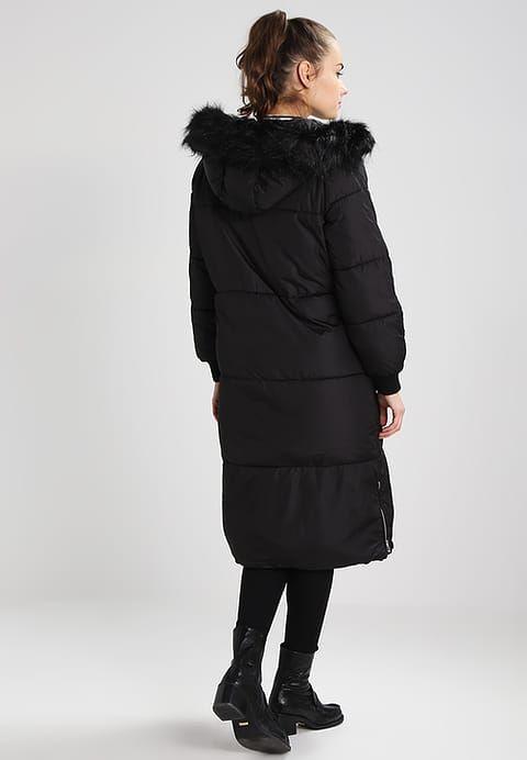 New Look Petite Plaszcz Zimowy Black Zalando Pl