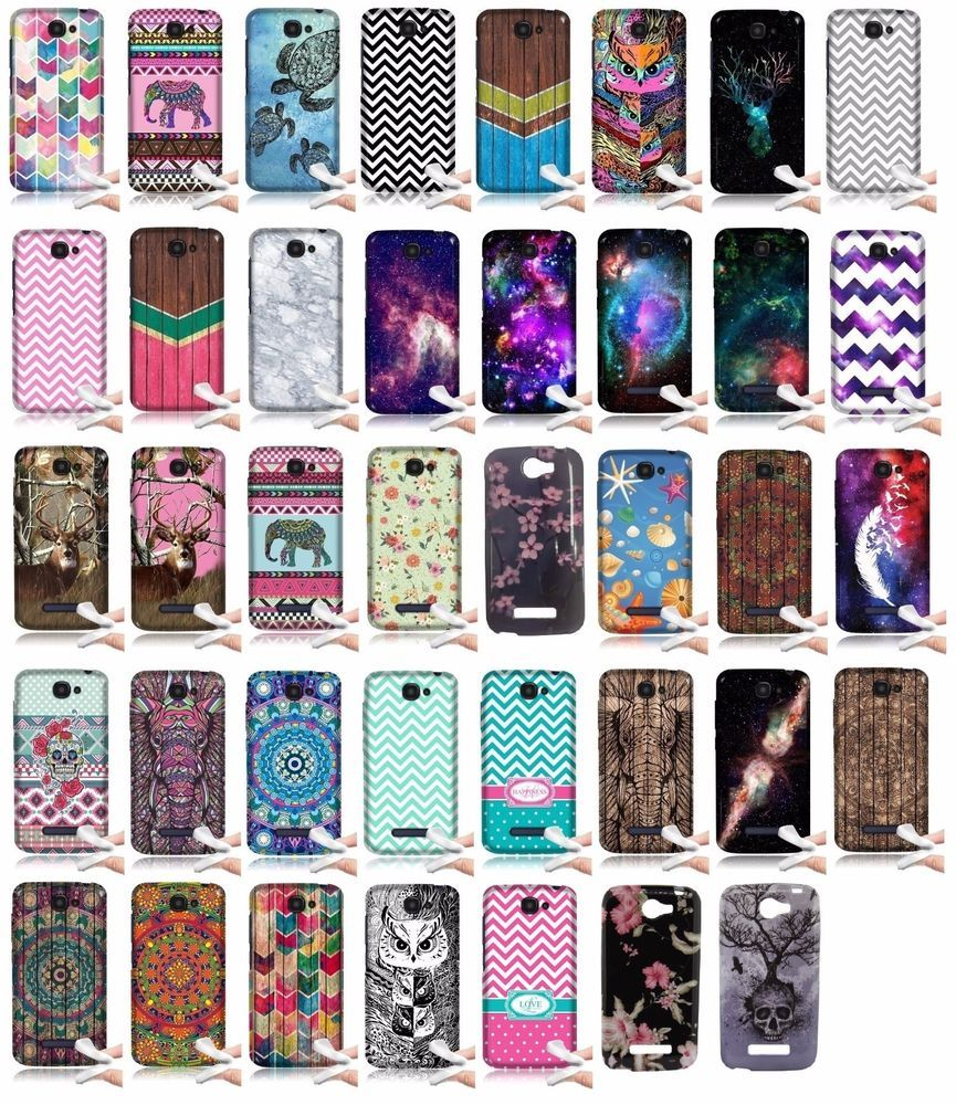 brand new 5e44d b87b6 For Alcatel One Touch Fierce 2 7040T Pop Icon A564C TPU Rubber Cover ...