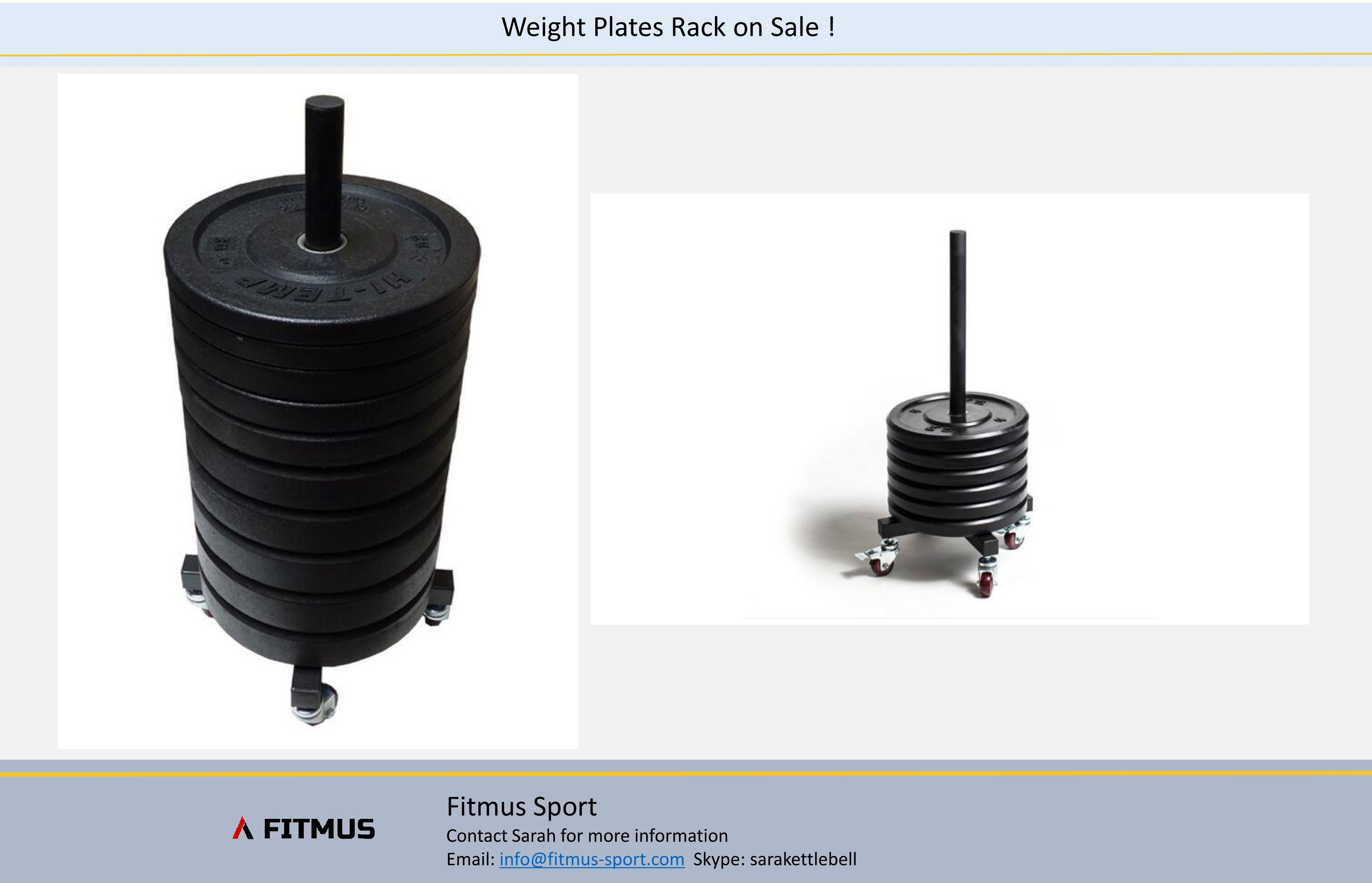 rolling weight plate weight plate rack on sale from fitmus sport