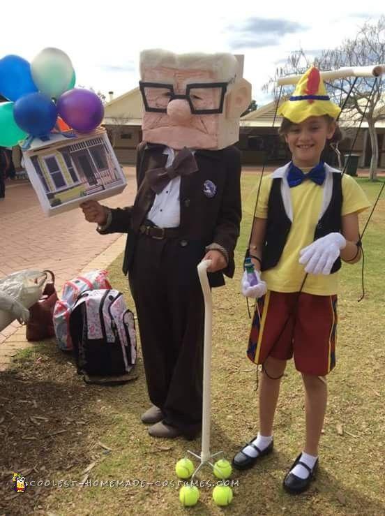 Best Homemade Carl Fredricksen Costume | Carl fredricksen ...