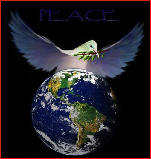 Image result for prophetic art  Peace on earth