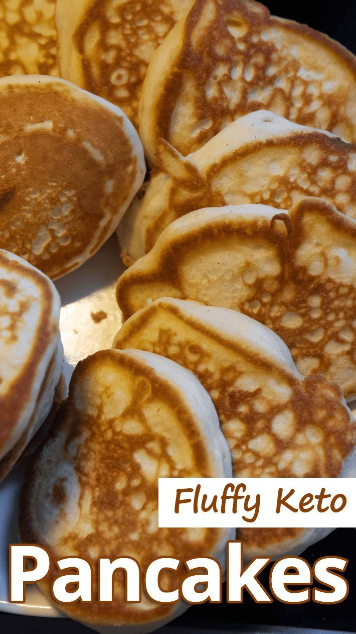 Fluffy Keto Pancakes Fluffy Keto Pancakes