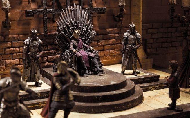 Toys Game of Thrones Iron Throne Room Construction Set Fantasy GOT Educational