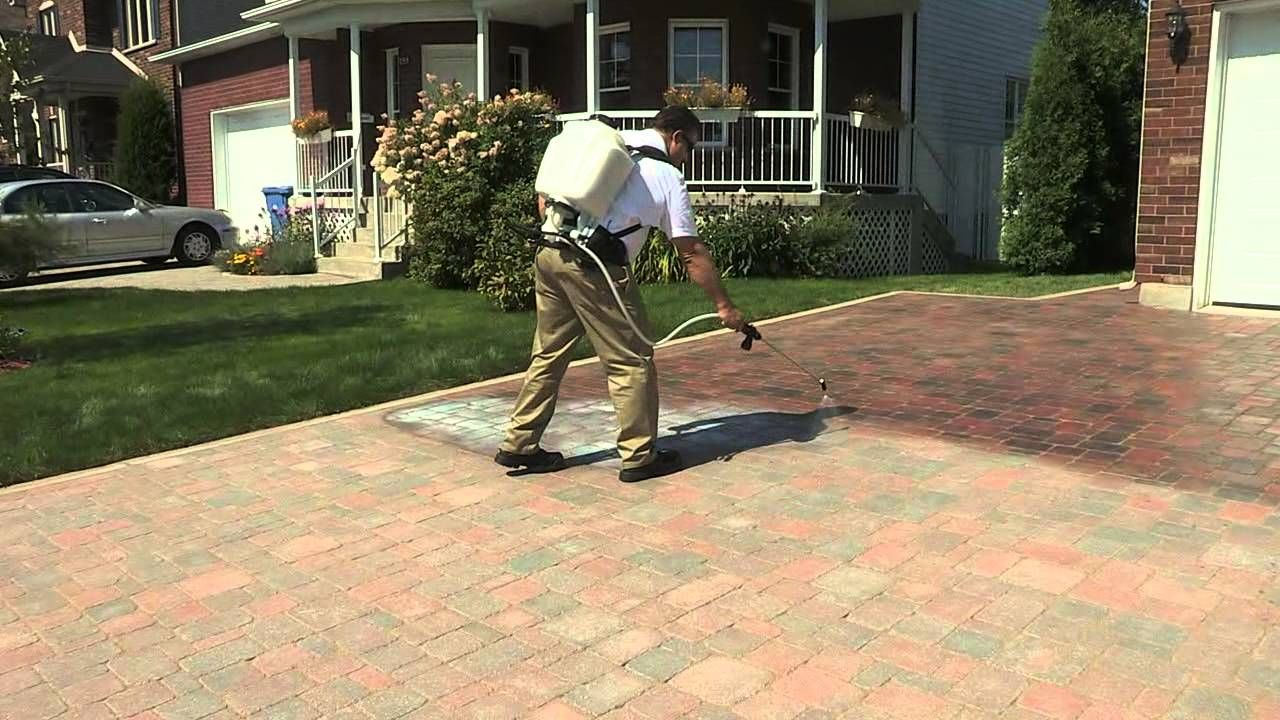 Techniseal How To Apply A Water Based Wet Look Paver Sealer