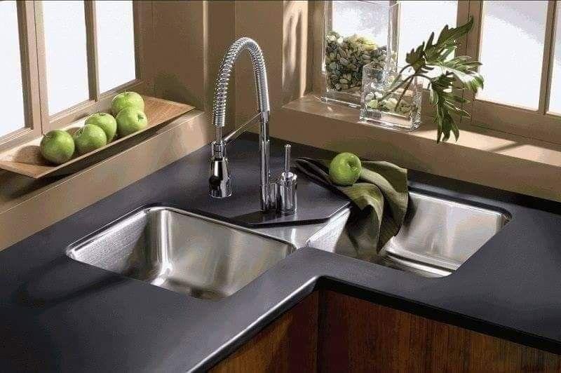 Corner Sink Design Corner Sink Kitchen Kitchen Sink Design Kitchen Design