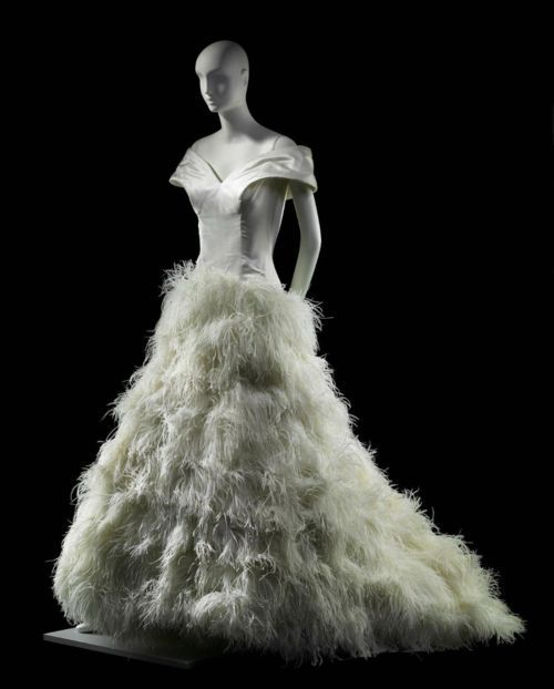 Wedding Dress, Arnold Scaasi, 1989 via The Museum of Fine Arts ...